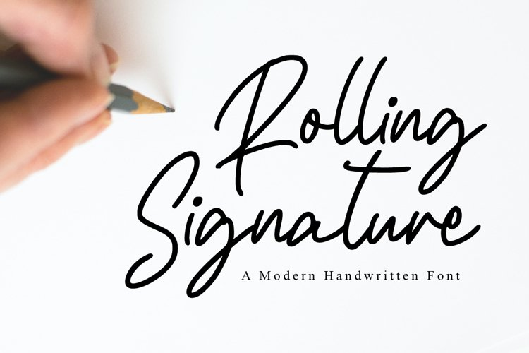 Rolling Signature example image 1