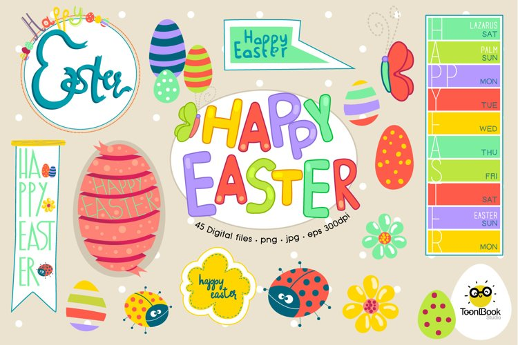 Easter Calendar example image 1