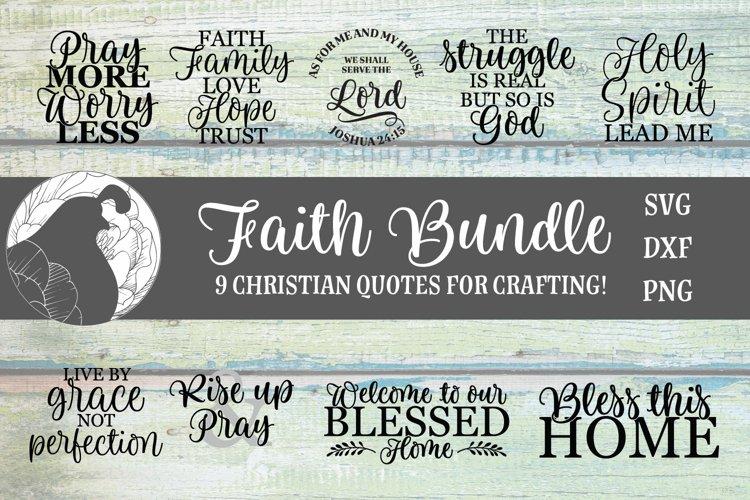 Faith Bundle, Christian SVG