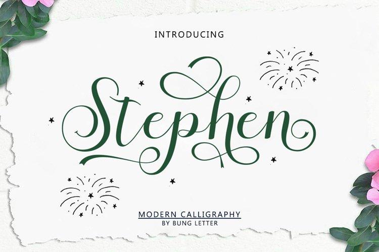 Stephen example image 1