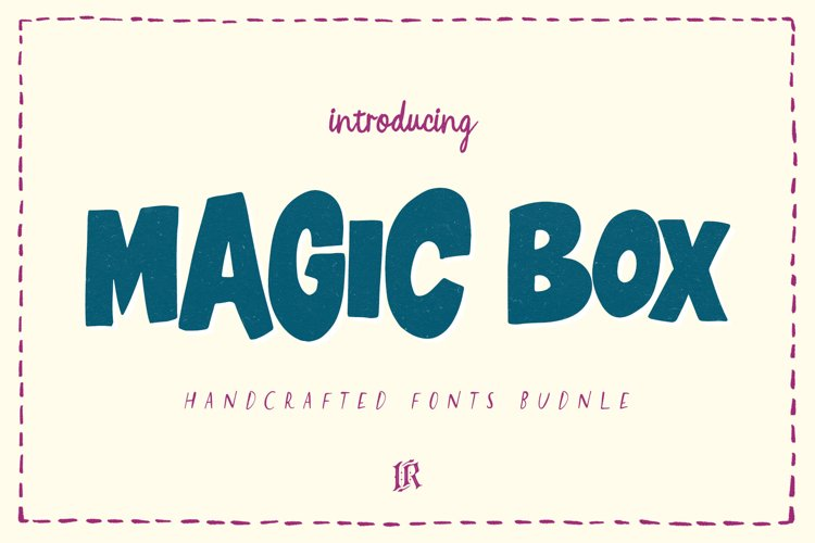 Magic Box - Handcrafted Fonts Bundle example image 1