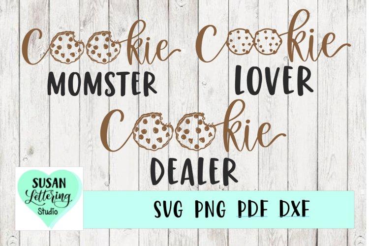 Cookie Bundle | Cookie Dealer, Cookie Momster, Cookie Lover example image 1