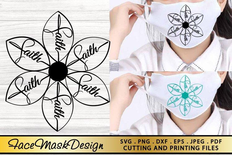 Mask SVG PNG EPS DXF Face Mask SVG Mask Design SVG Cut File