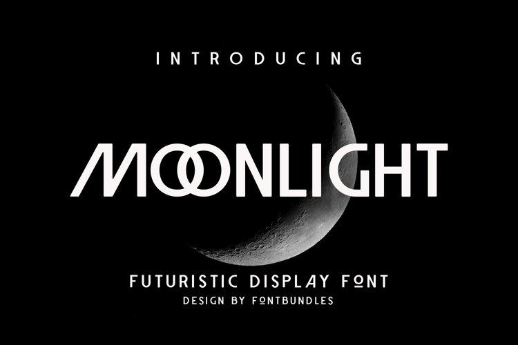Web Font Moonlight example image 1