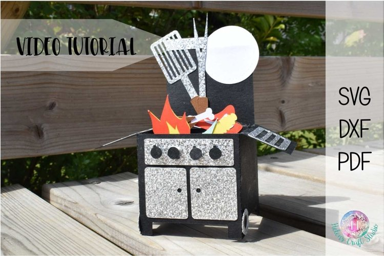 Grill pop up box card example image 1