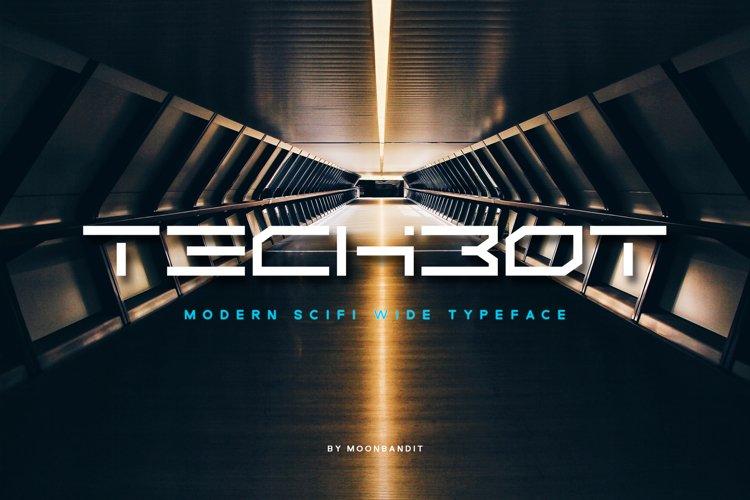 Techbot - modern futuristic scifi example image 1