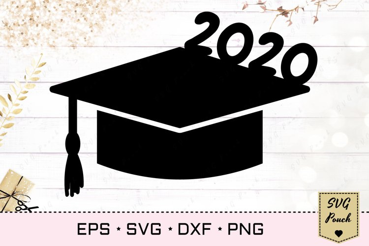 Senior 2020 SVG example image 1