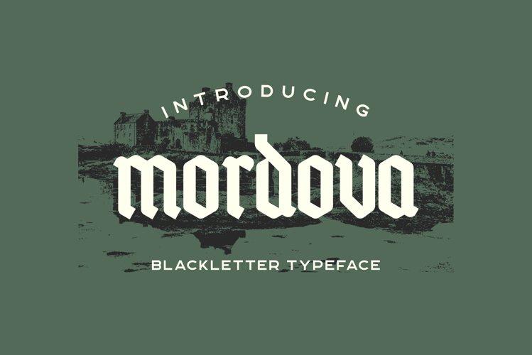 Mordova Blackletter example image 1