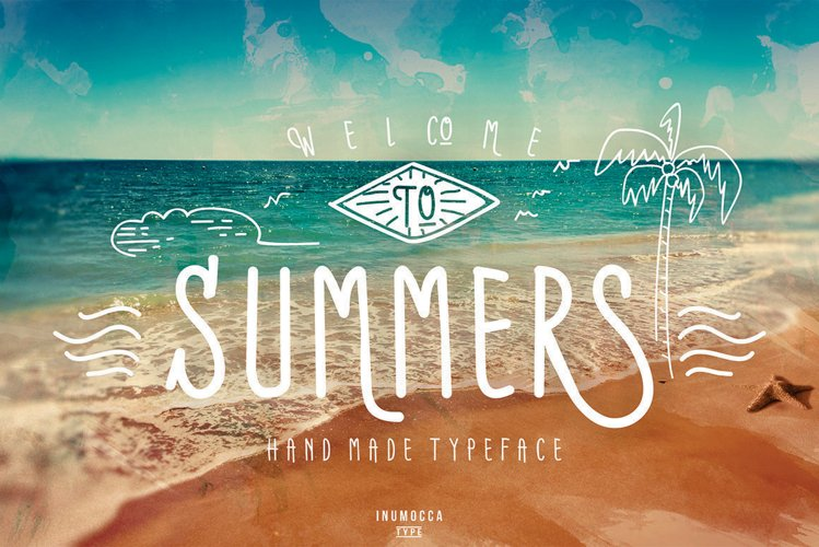 Summers Typeface example image 1