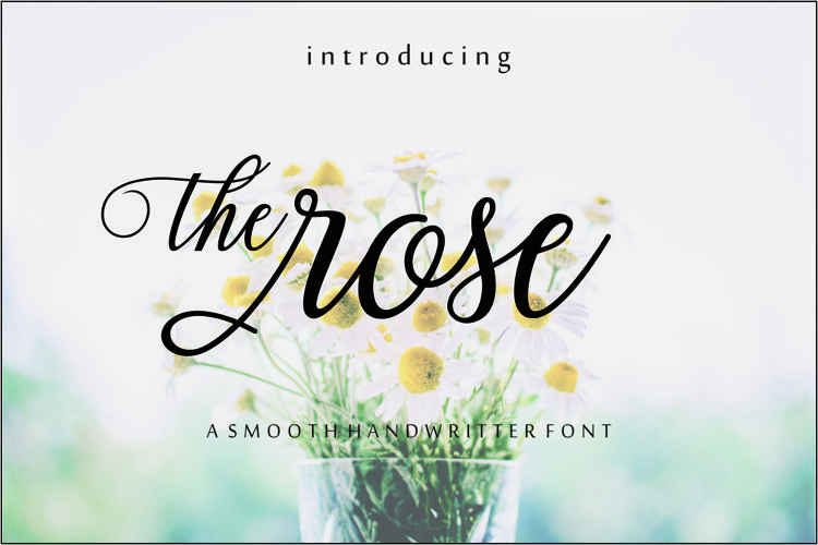 The rose script example image 1