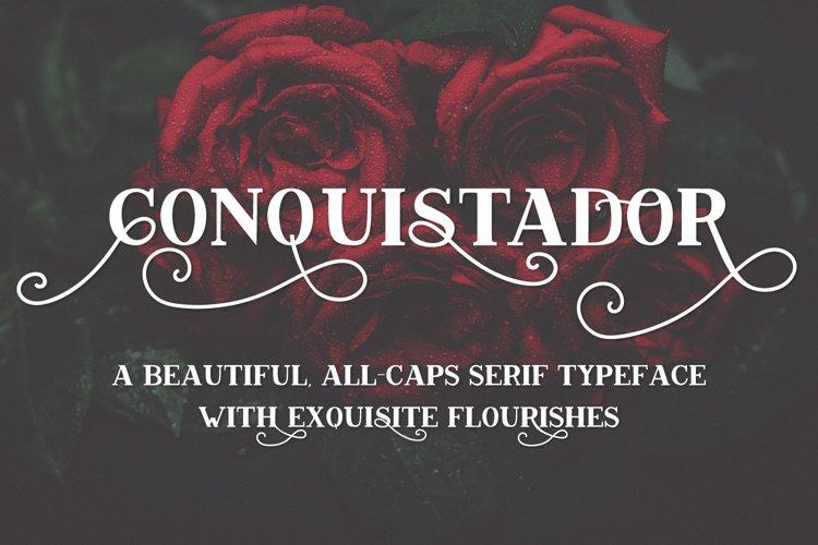 Conquistador Serif Font example image 1