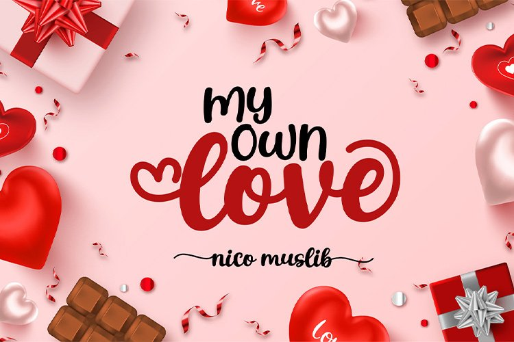 My Own Love || cute handwritten example image 1