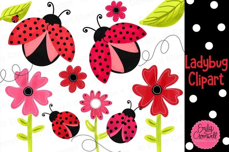 Ladybug Clipart example image 1