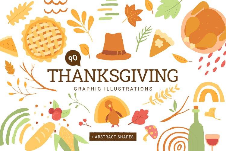 Thanksgiving Vector Illustrations
