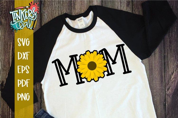 Mom Sunflower SVG Sublimation