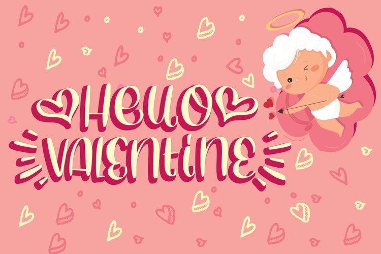Hello Valentine example image 1