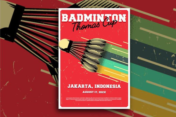 83 Badminton Flyer example image 1