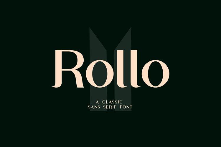 Rollo Classic Sans Serif Font example image 1