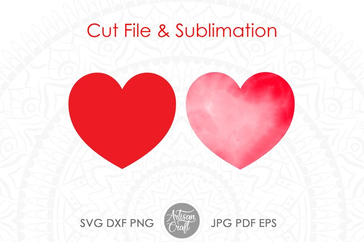 Heart SVG & PNG Clipart example