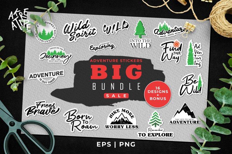 Adventure Stickers Printable|Adventure Stickers Big Bundle 1