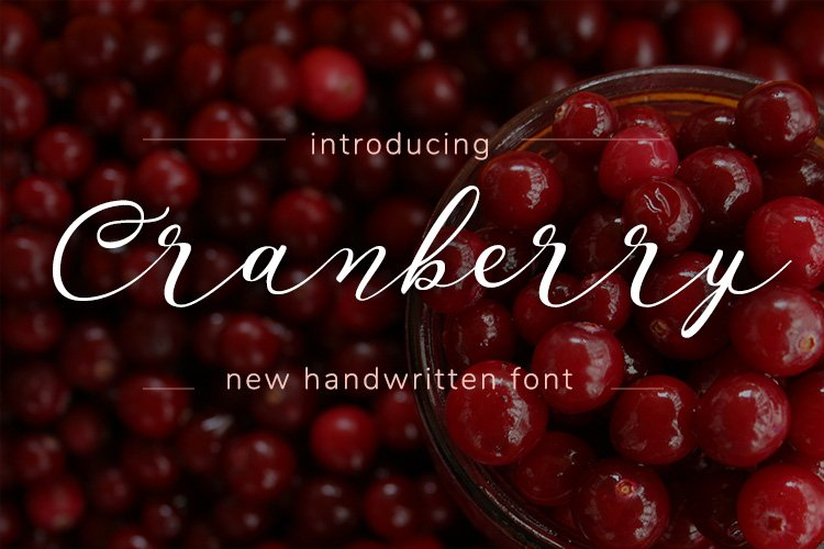 Cranberry example image 1