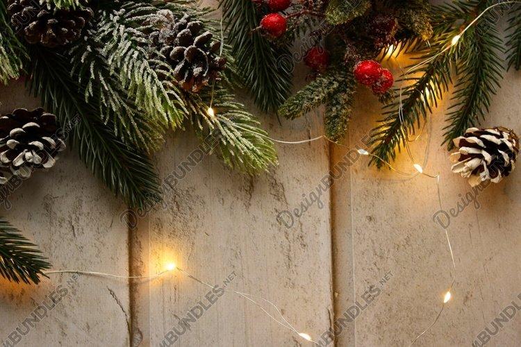 Christmas festive led background