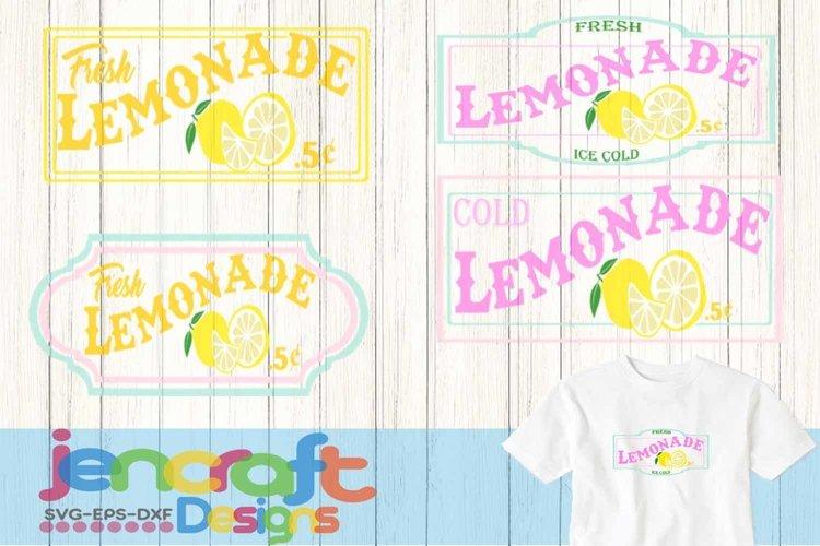 Lemon Svg, Lemonade SVG, lemonade stand sign art bundle