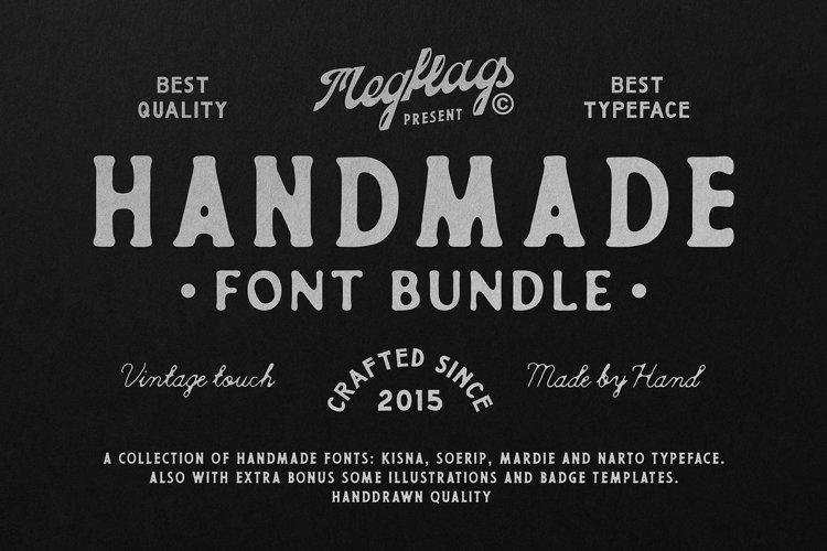 Handmade Font Bundle example image 1