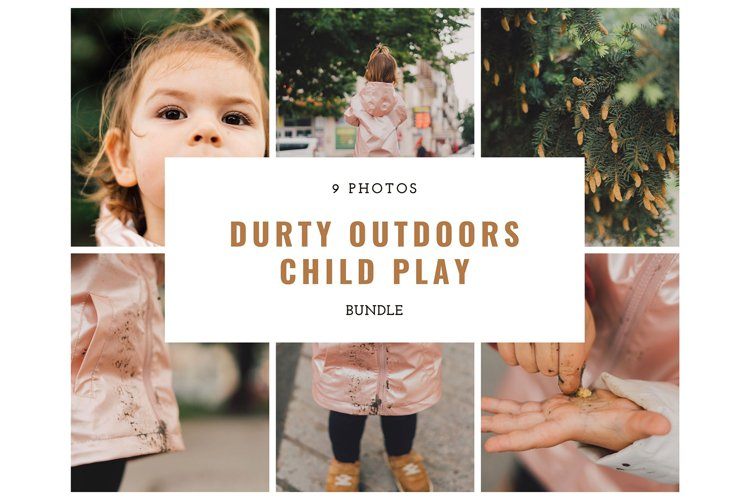 Dirty Outdoors Child Play Bundle Lifestyle 9 Photos example image 1