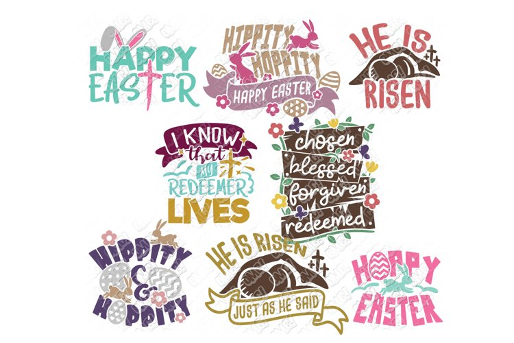 Easter Quotes SVG Phrases T Shirt in SVG, EPS, PNG, DXF, JPG example image 1