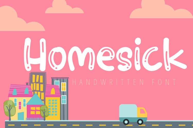 Homesick-Cute Handwritten Font example image 1