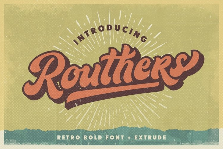 Routhers Retro example image 1