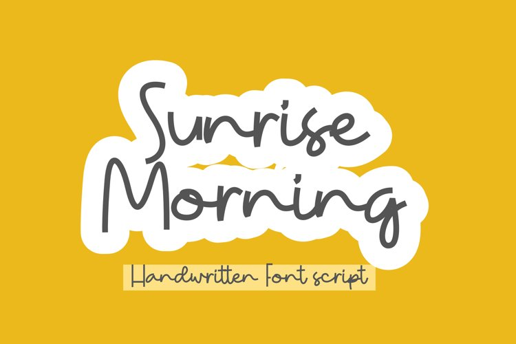 Sunrise Morning example image 1