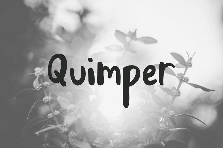 Quimper   Friendly Sans Serif