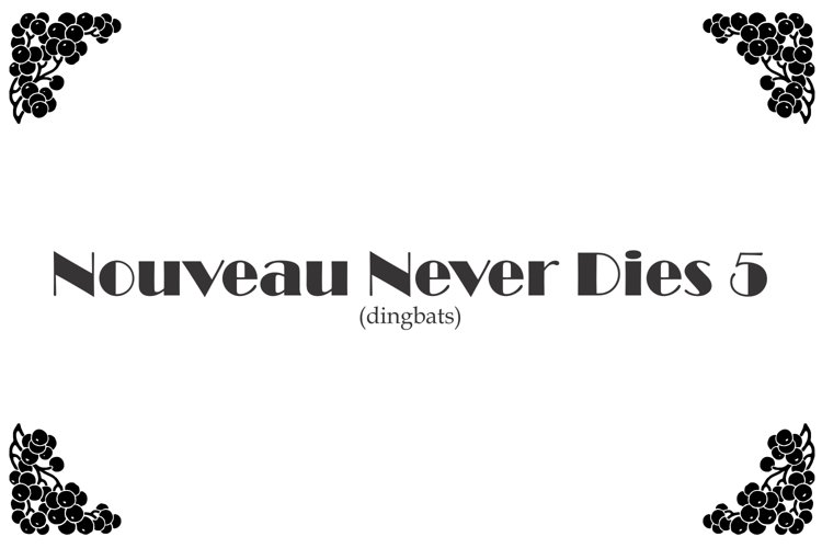 Nouveau Never Dies 5 example image 1