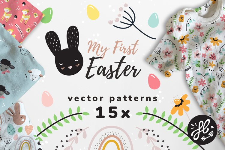 My first Easter - 15x pattern example image 1