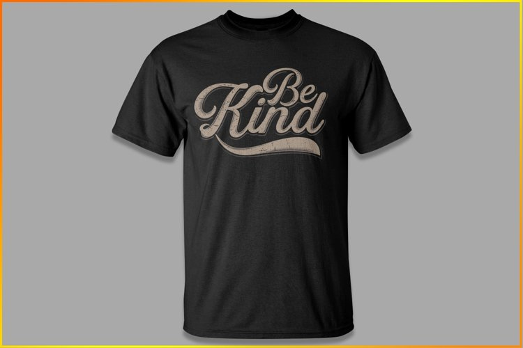 Be Kind Typo