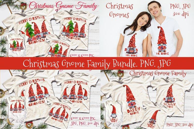 Christmas Gnome Family. Christmas Gnomes. Christmas family example image 1