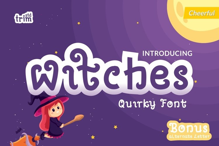 Witches - Spooky Quirky Font