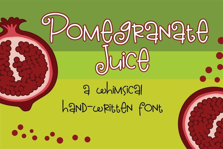 ZP Pomegranate Juice example image 1