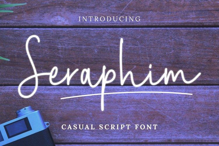 Web Font Seraphim Font example image 1