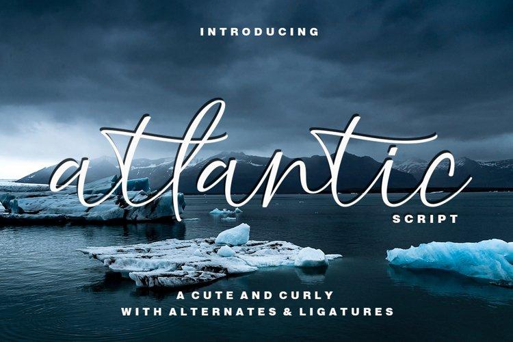 atlantic script example image 1