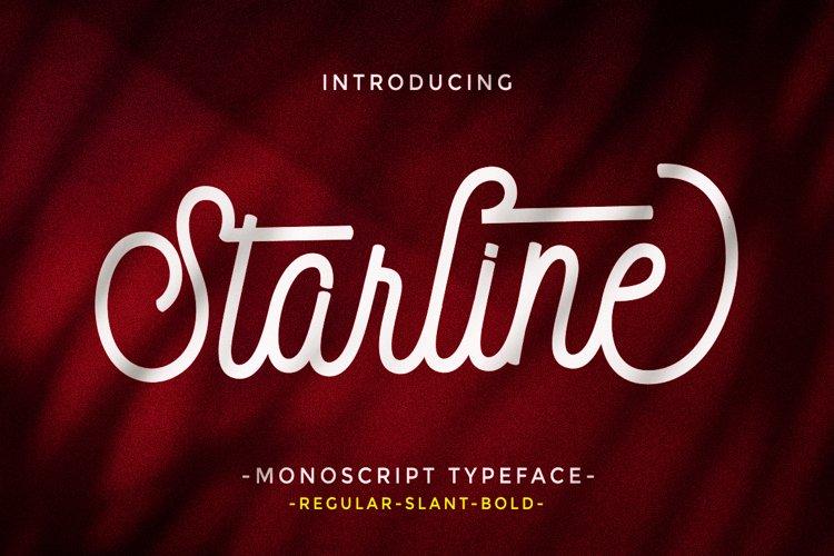 Starline script example image 1