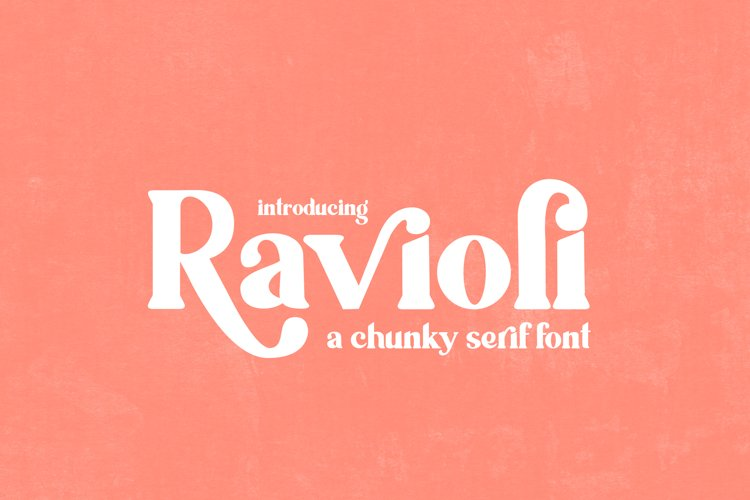 Ravioli Serif Font example image 1