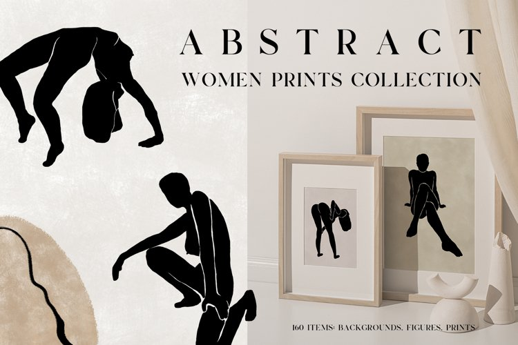 ABSTRACT women prints collection