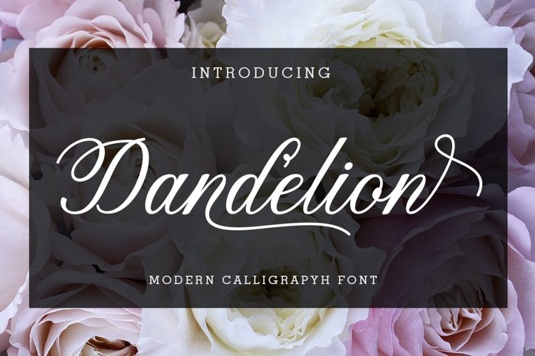 Dandelion Script example image 1