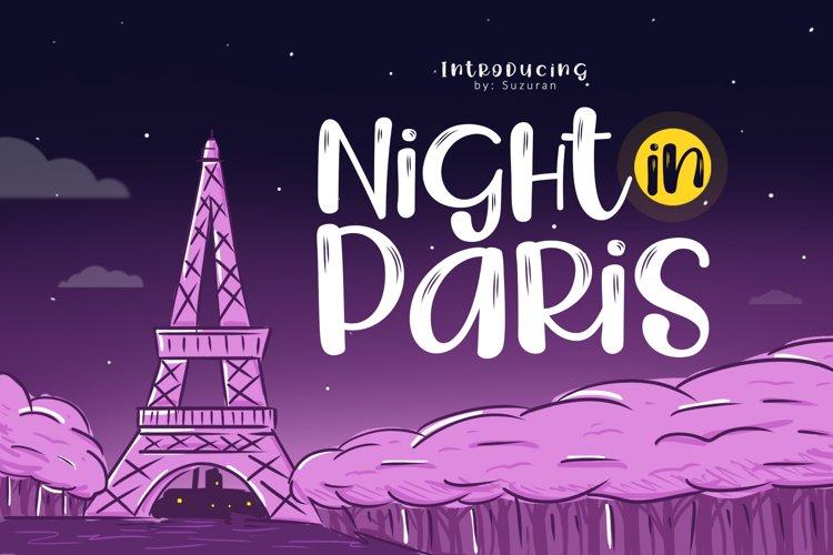 Night in Paris example image 1