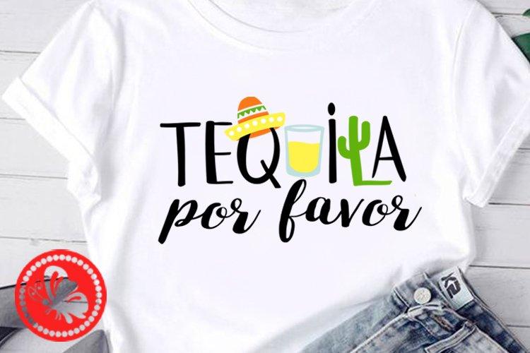 Tequila por favor Nacho shirt Mexican Sombrero Cinco de mayo example image 1