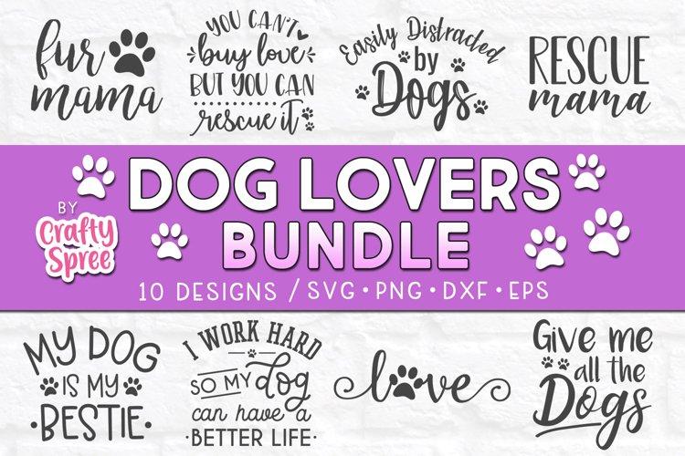Dog Lovers Bundle SVG DXF Design File Sublimation