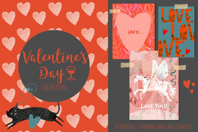 Valentines Day PATTERNS AND ELEMENTS